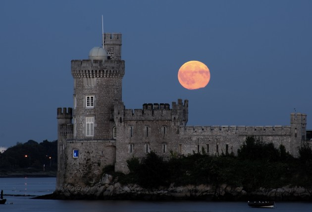 Castle with Full Moon high res