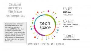 Ciarraí TechSpace Sábhail an Dáta