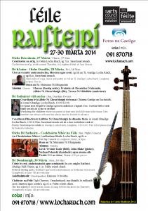 Féile Raifteirí_27-30 Márta 2014