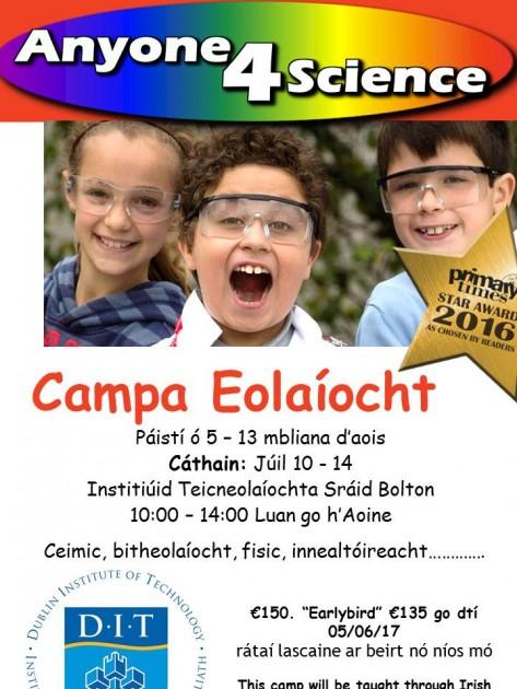 Summer poster as gaeilge V2